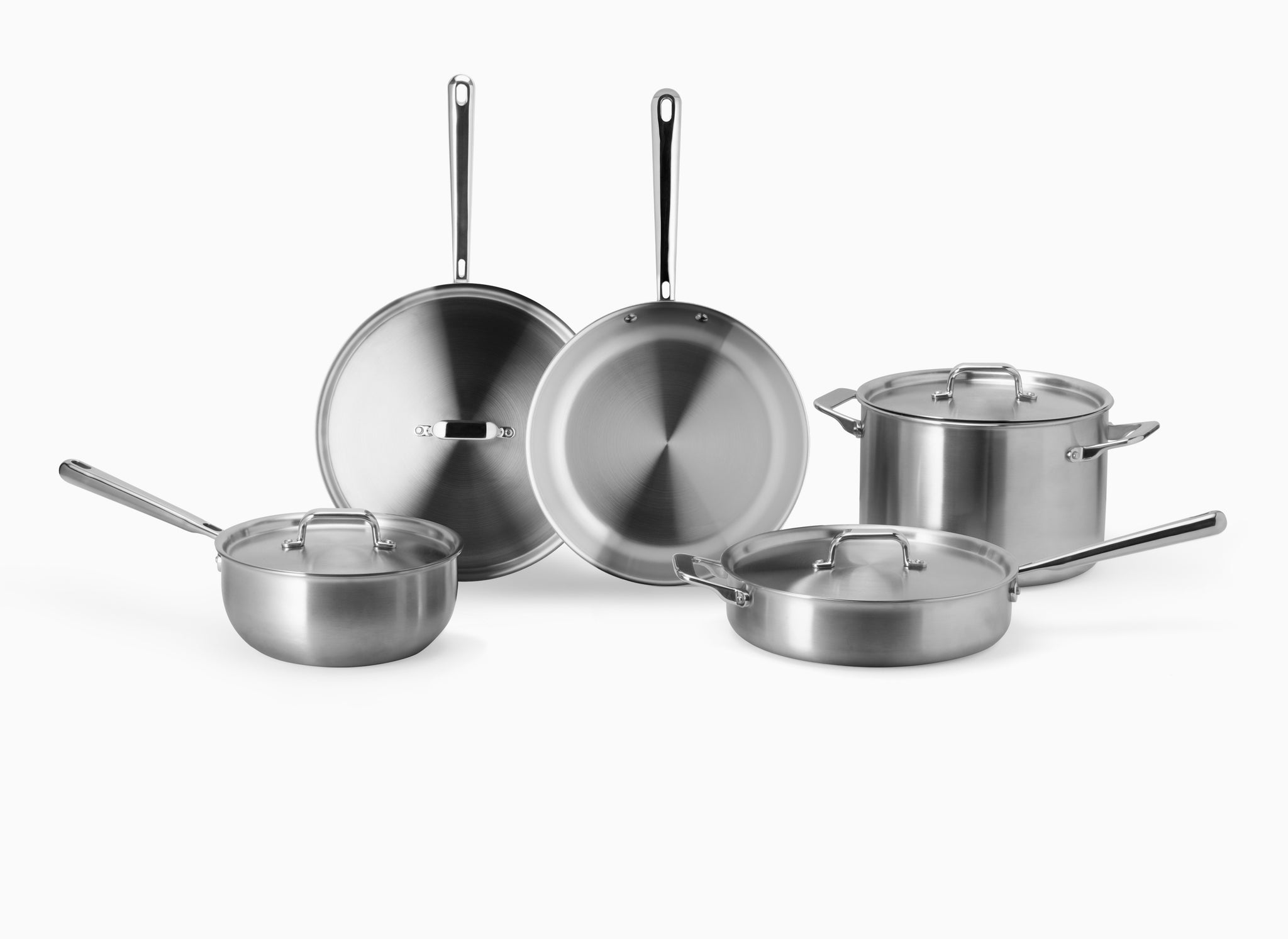 Misen essential cookware set