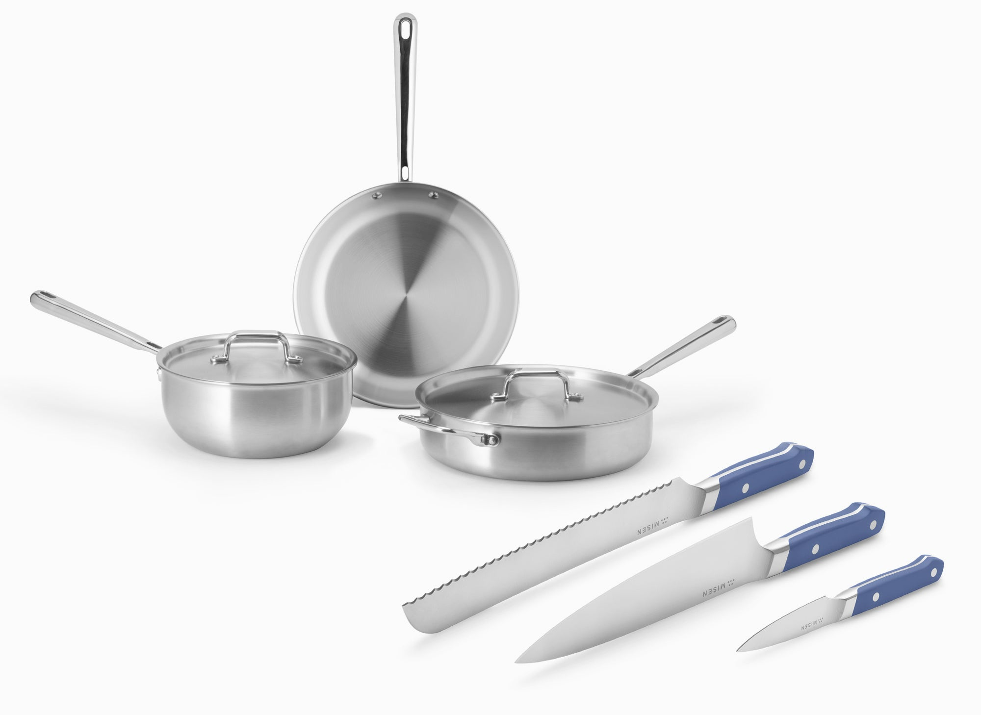 Cookware + Knife Bundles