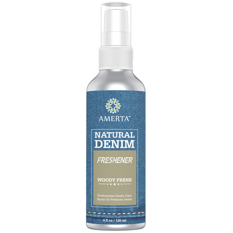 Amerta® Natural Denim Care / Freshener Spray, Woody Fresh Scent