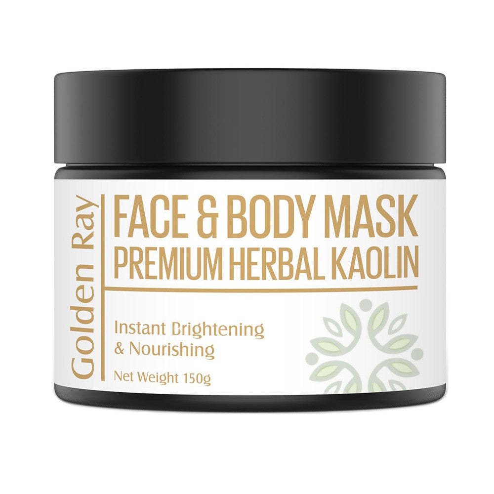 Amerta® Golden Ray All Natural Face and Body Mask