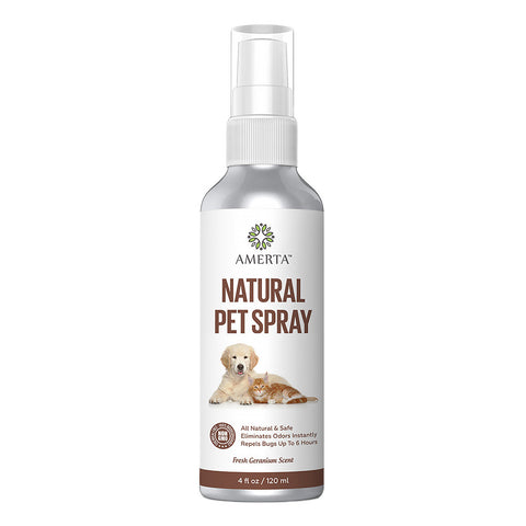 Amerta® All Natural Pet Spray - Odor Remover & Insect Repellent