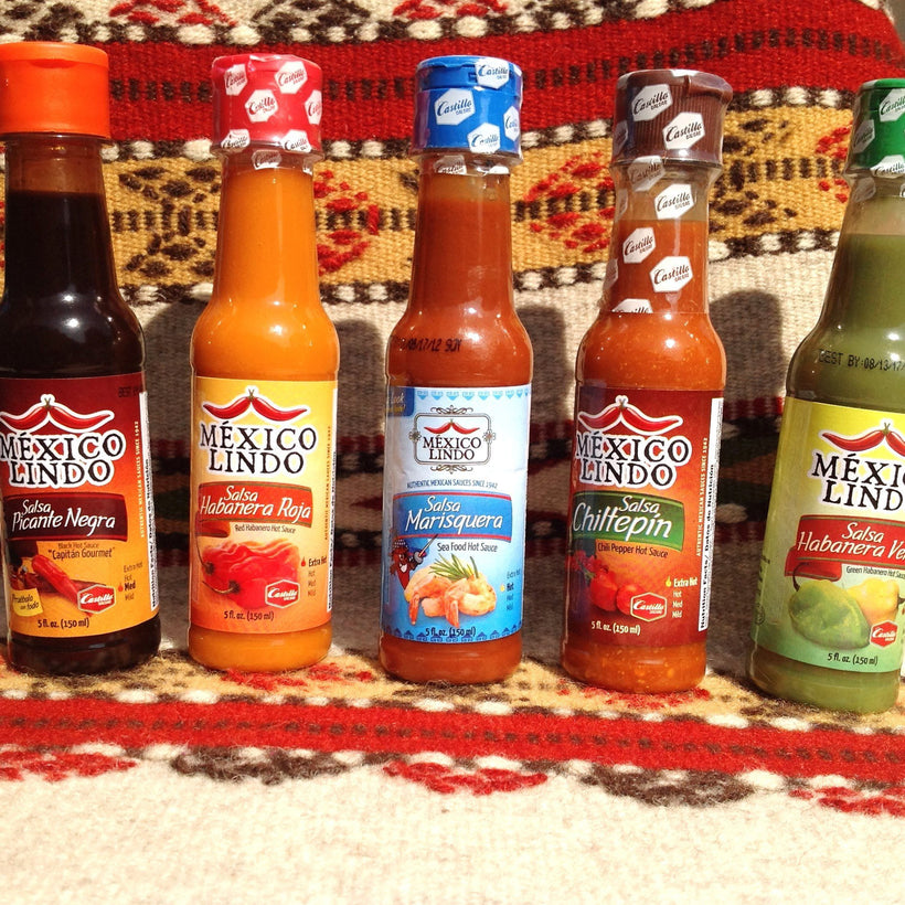 Authentic Mexican Hot Sauces