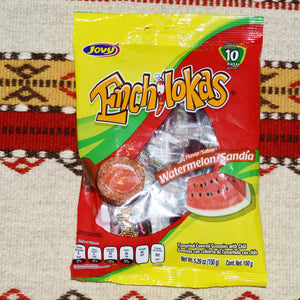 Enchilokas Tamarind & Chili Watermelon/Sandia Gummies Mexican Candy Candy ~ Sweets ~ Desserts- Mucho-Mex
