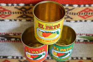 36 Empty EL PATO Cans ~ 7 3/4 Oz. for Crafts~Decor~Parties~Planters Mucho Otro ~ Gifts ~ Games- Mucho-Mex