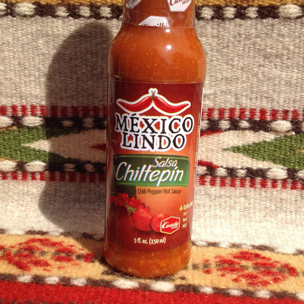 Mexico Lindo Salsa Chiltepin XTRA HOT Mexican Hot Sauce Hot Sauces- Mucho-Mex