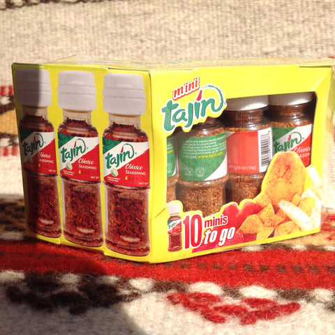 10 MINI .35 oz TAJIN Clasico Chili Seasoning Lunchbox Camping Chilis ~ Seasonings ~ Herbs- Mucho-Mex