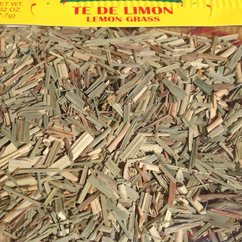 .62 Ounces Ti De Limon - Dried Lemon Grass ~ Herbal Tea Chilis ~ Seasonings ~ Herbs- Mucho-Mex