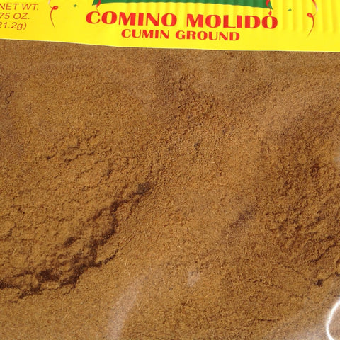 .75 Ounces Comino Molido - Ground Cumin Chilis ~ Seasonings ~ Herbs- Mucho-Mex