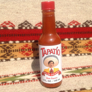 5 Ounce Bottle TAPATIO Salsa Picante Mexican Hot Sauce Hot Sauces- Mucho-Mex
