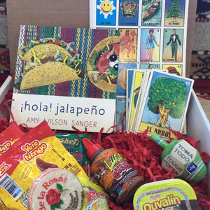 Kid's Mexican Fun Gift Pack w/Book, Loteria Game, Toma Todo Top Game and Candy Mix Mucho Otro ~ Gifts ~ Games- Mucho-Mex