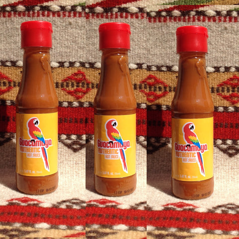 3 Bottles La Guacamaya Original Authentic Mexican Hot Sauce Hot Sauces- Mucho-Mex