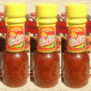 3 Cielito Mexican Chili Powder w/Salt & Lemon🍋 Fruit/Micheladas Chilis ~ Seasonings ~ Herbs- Mucho-Mex