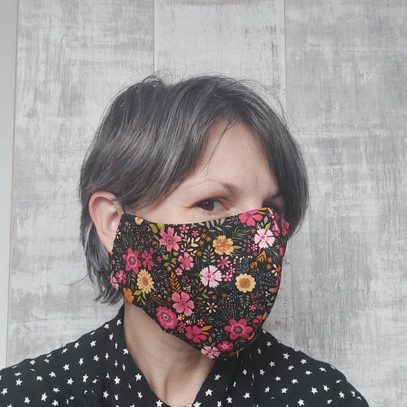 Floral Face Mask by Olganna
