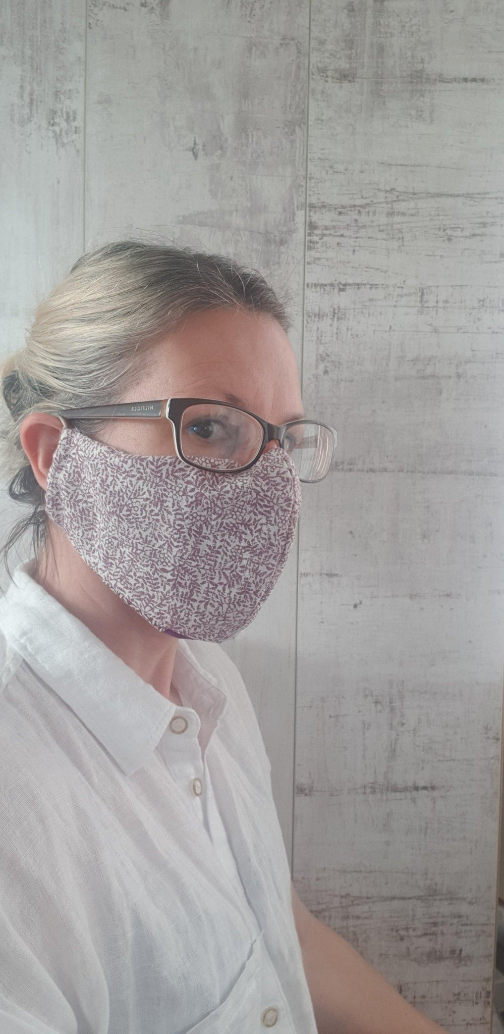 Washable Face Masks like kate middleton, with a Pocket to Include a Filter.