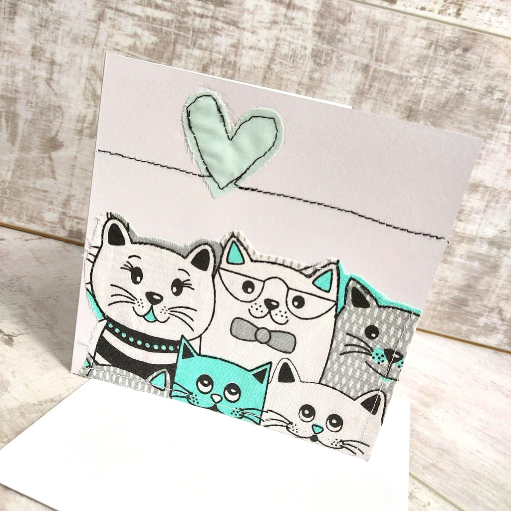 Love Cats 💌 Greetings Card