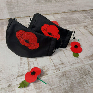 ❤️ Poppy Face Mask- £5 donated to Poppy Appeal with each sale.