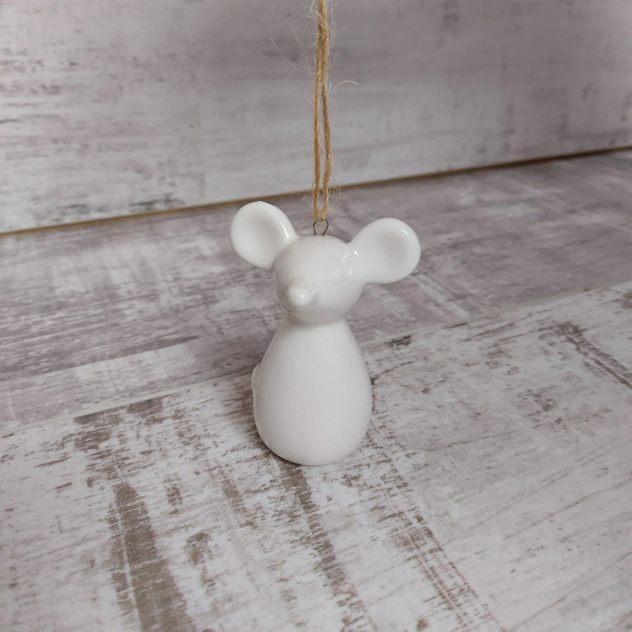 Mouse Christmas Tree Hanging Decoration