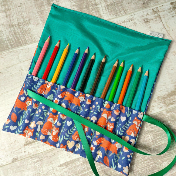 Fox Crochet Hook Case and Hooks - Olganna