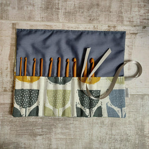 Scandi print Crochet Hook Case