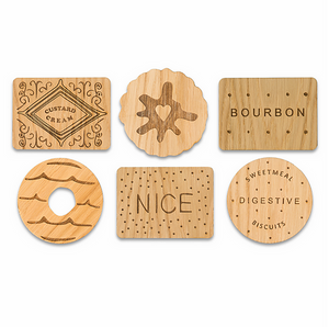 Biscuit Coasters - Cute housewarming gift