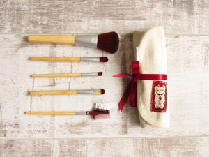 Lucky Cat Make Up Brushes Set