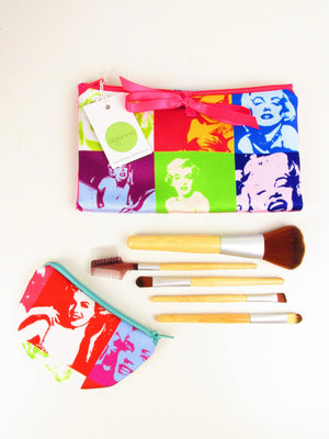 👀 - SALE - Marilyn Gift Set - Make up bag and Coin purse set