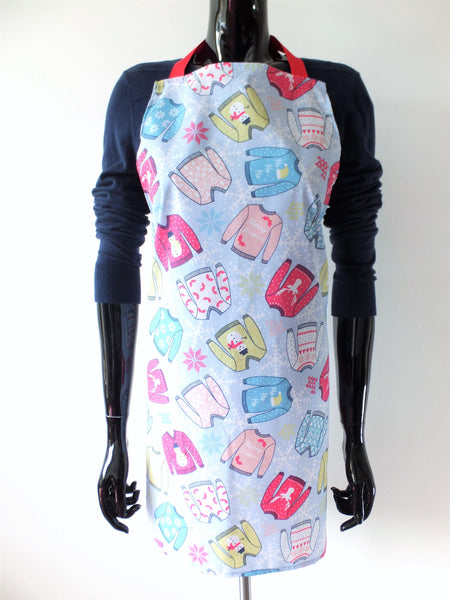 Christmas Decor, Christmas Jumper, Apron, Home Decor, New Home Gift, Cooking Gift, Baking Present