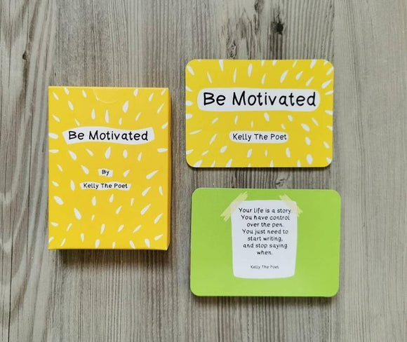 Motivational Poem Cards by Kelly the Poet - Olganna