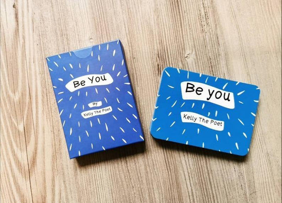 Be You Affirmation Poetry Cards by Kelly the Poet - Olganna