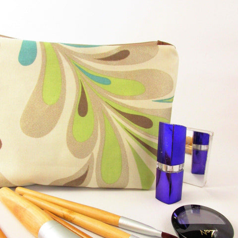 Make Up Bag with Zipper, Large Make Up Bag, Wash Bag, Cosmetics Bag