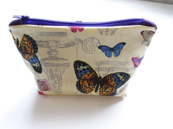 Butterfly Make up Bag - Olganna
