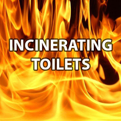 Incinerating Toilets