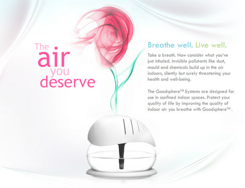 Goodsphere Air Purifiers and Essences - The Air You Deserve