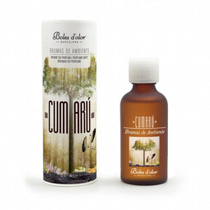 Boles d'olor Cumaru (Haba Tonka) Brumas de Ambiente Essence (50ml) - CleanTheAir.co.uk