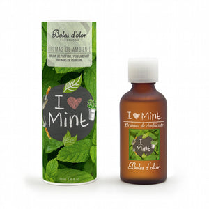 Boles d'olor I Love Mint Brumas de Ambiente Essence (50ml) - CleanTheAir.co.uk