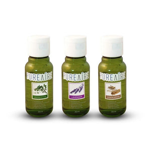 PureAire Autumn Collection Essence Sample Pack (3 x 30ml) - CleanTheAir.co.uk