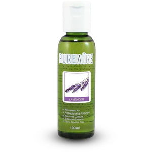 PureAire Lavender Essence (100ml) - CleanTheAir.co.uk