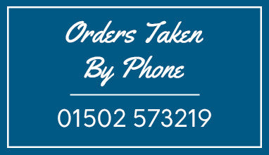 Orders Taken By Phone - 01502 573219. Worldwide Delivery On All Items*.