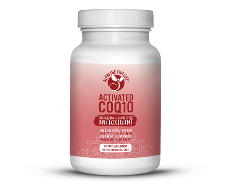 Alkaline for Life Activated CoQ10 60 Softgels