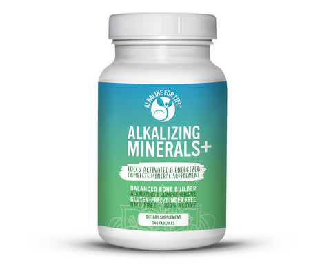 Alkaline for Life Alkalizing Minerals+ 240 Tabsules