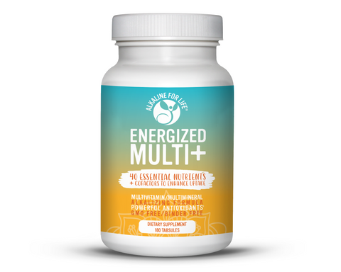 Alkaline for Life Energized Multi+ 180 Tabsules