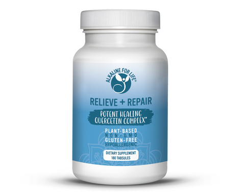 Alkaline for Life Relieve and Repair 180 Tabsules
