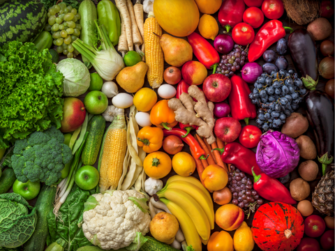 fruits and veggies alkaline for life