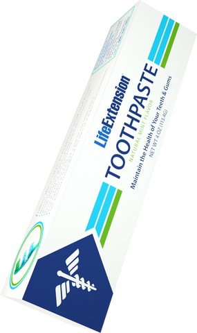 Life Extension-Life Extension Toothpaste  Mint 4 oz (113.4 g) - Alkaline for Life
