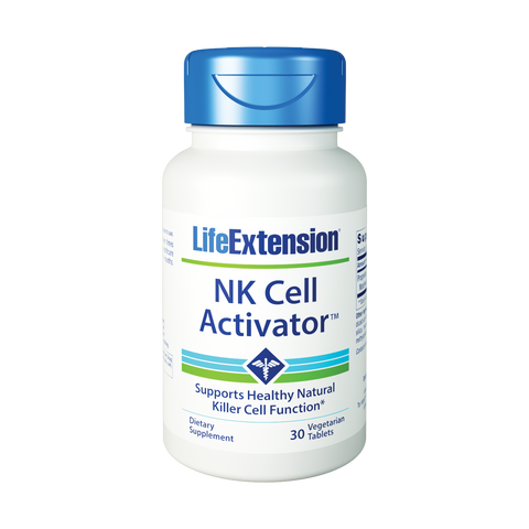 Life Extension-NK Cell Activator™  30 vegetarian tablets - Alkaline for Life