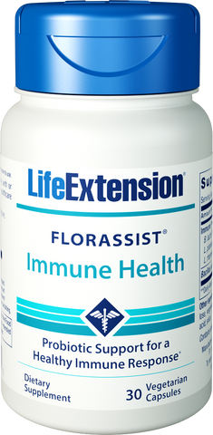 Life Extension-FLORASSIST® Immune Health  30 vegetarian capsules - Alkaline for Life
