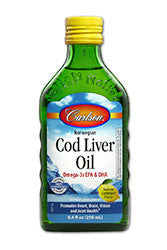 Carlson Labs-Carlson Labs Cod Liver Oil (16.9 oz / 500 ml) - Alkaline for Life