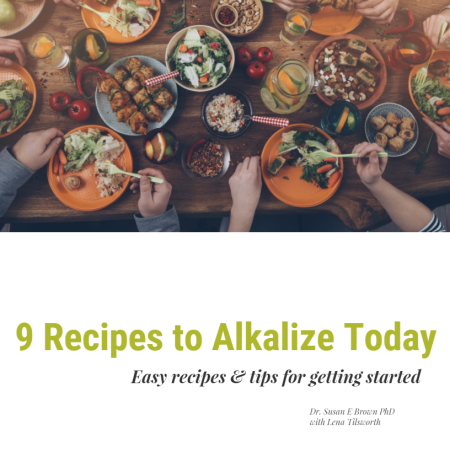 Alkaline for Life-9 Easy Alkalizing Recipes Booklet - Alkaline for Life