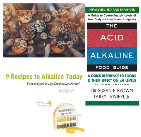 Center for Better Bones-Alkaline for Life® Diet Starter Kit - Alkaline for Life