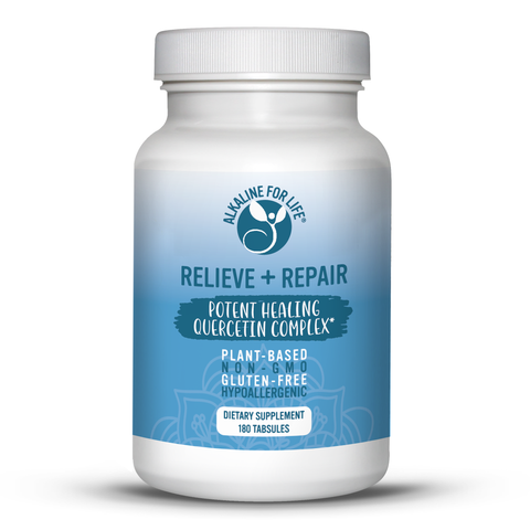 Relieve+Repair Quercetin Healing Complex (90 and 180 tabs)